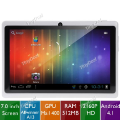 "Classificados Grátis - 7"" Resistive Touch Screen Android 4.1 2160P HD 4GB Tablet PC"